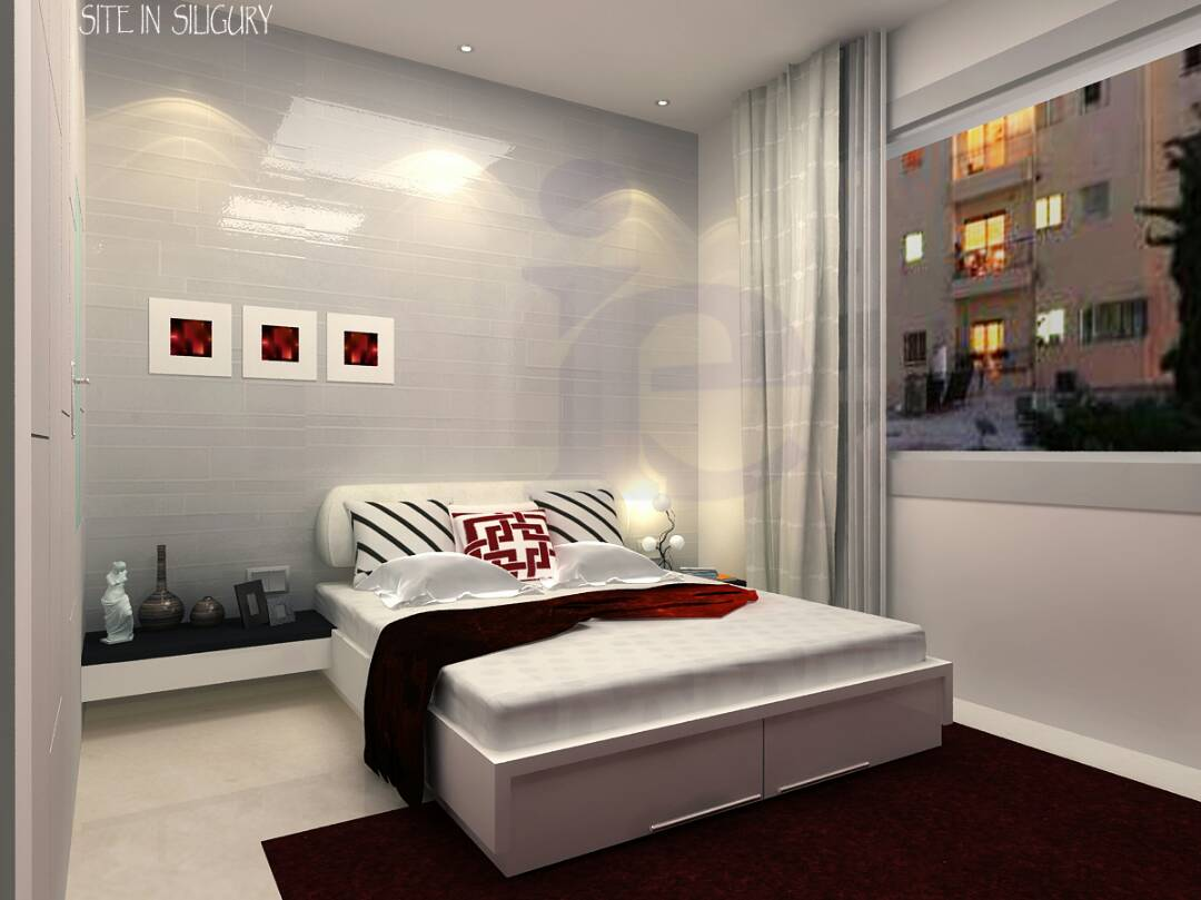 Interior designing & execution of a 3 storied building in Siliguri (Khelaghar More)